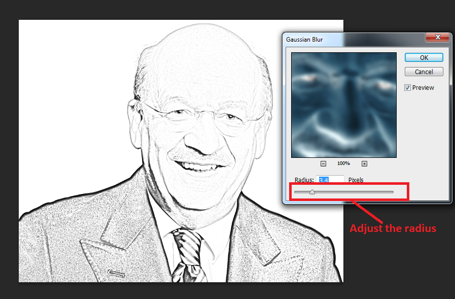 Select-3.4-pixel-in-Gaussian-blur
