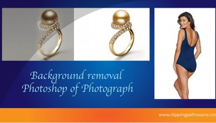 Background removal Photoshop of Photograph