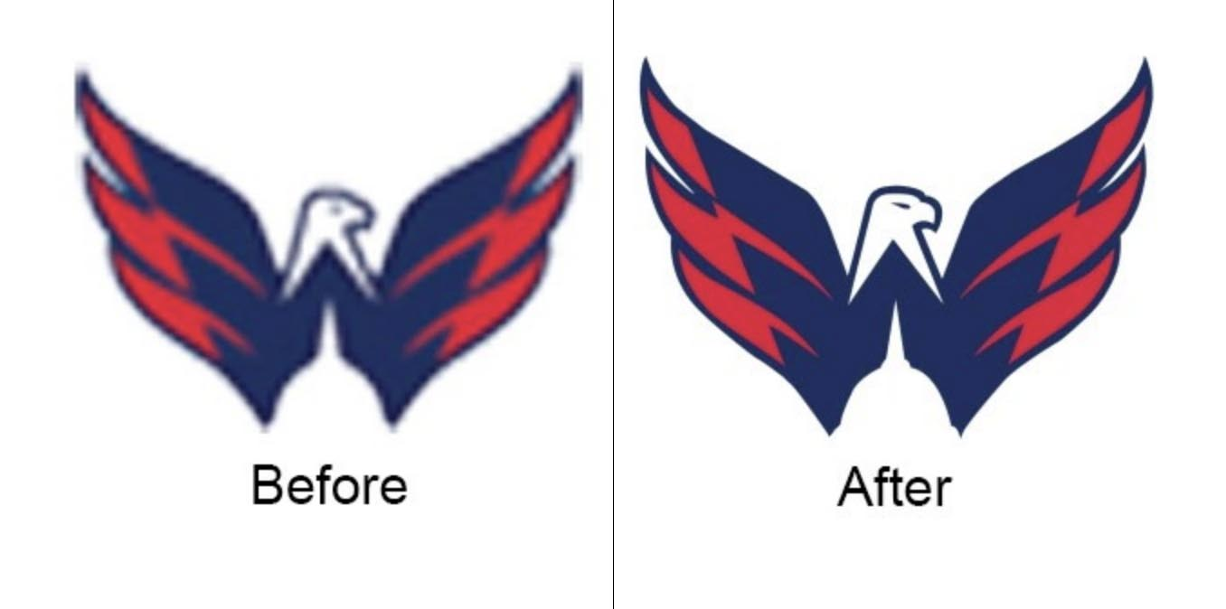 Raster to vector conversion | Clipping Path Source